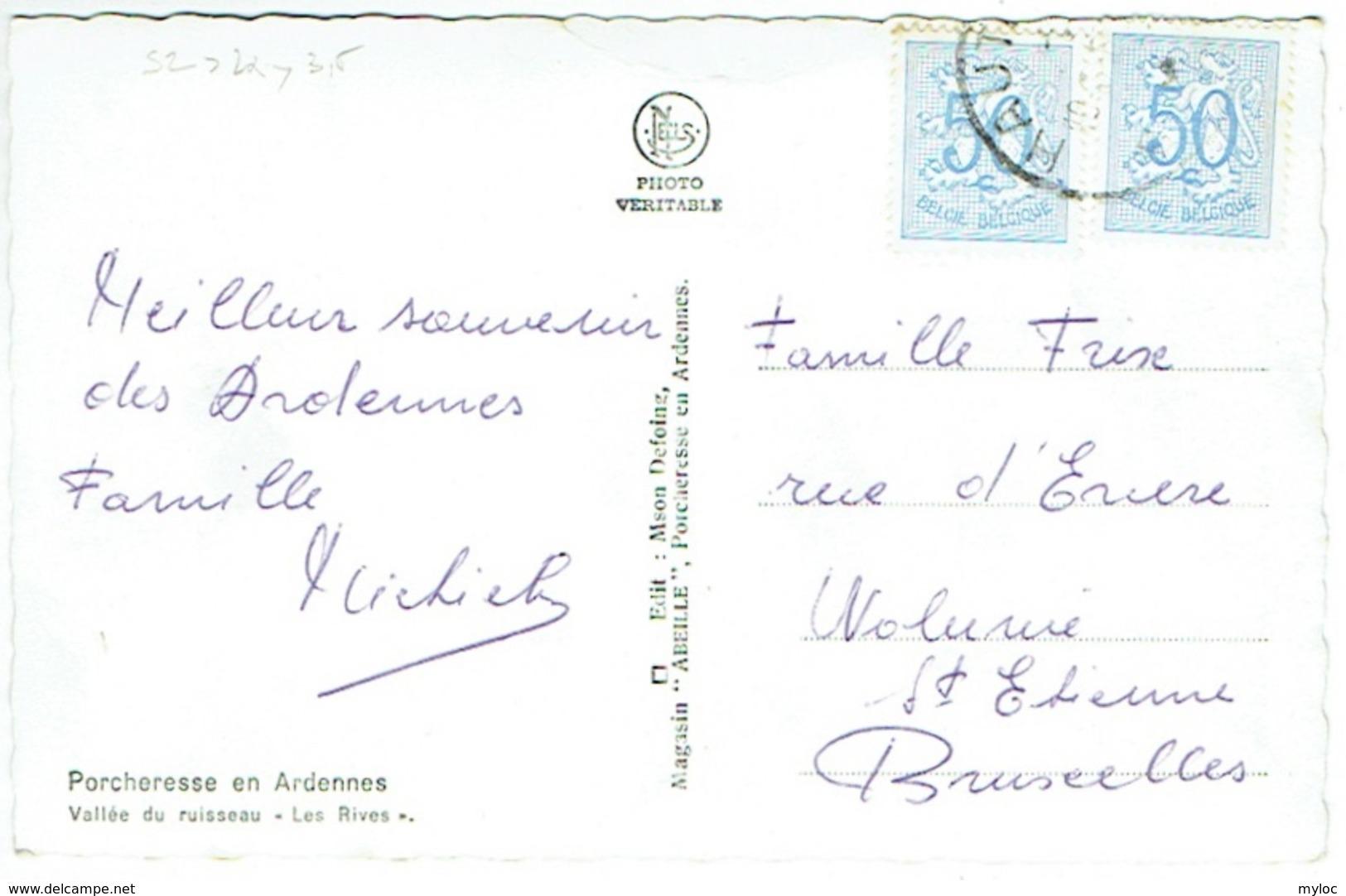 """Porcheresse En Ardennes. Vallée Du Ruisseau """"Les Rives"""" - Daverdisse"""