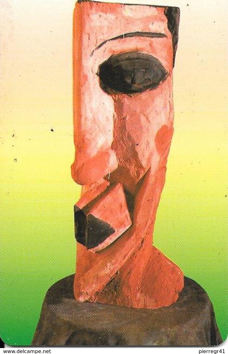 CARTE-PUCE-LUXEMBOURG-50U-SC11-SC7-1996-ART CONTEMPORAIN-8-Moritz Ney-V°Sans N° Série--TBE - Luxembourg