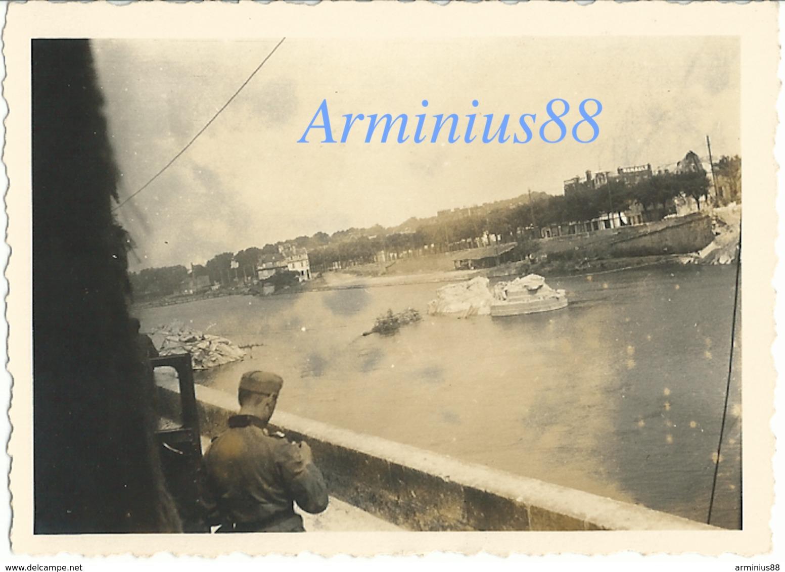 Campagne De France 1940 - Compiègne - Pont Louis XV Sur L'Oise - Wehrmacht - Westfeldzug - Guerre, Militaire
