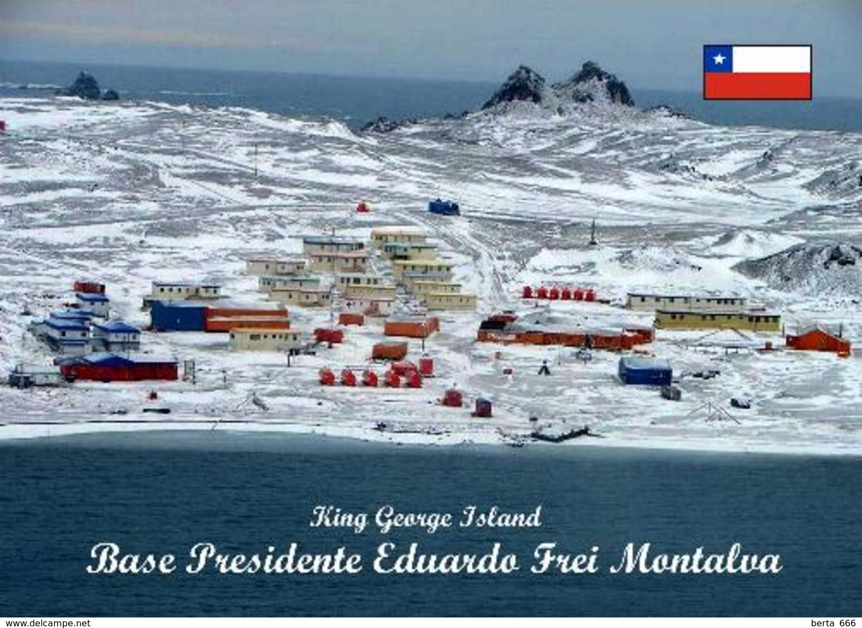 Antarctica Presidente Eduardo Frei Montalva Base Chile New Postcard Antarktis AK - Ansichtskarten