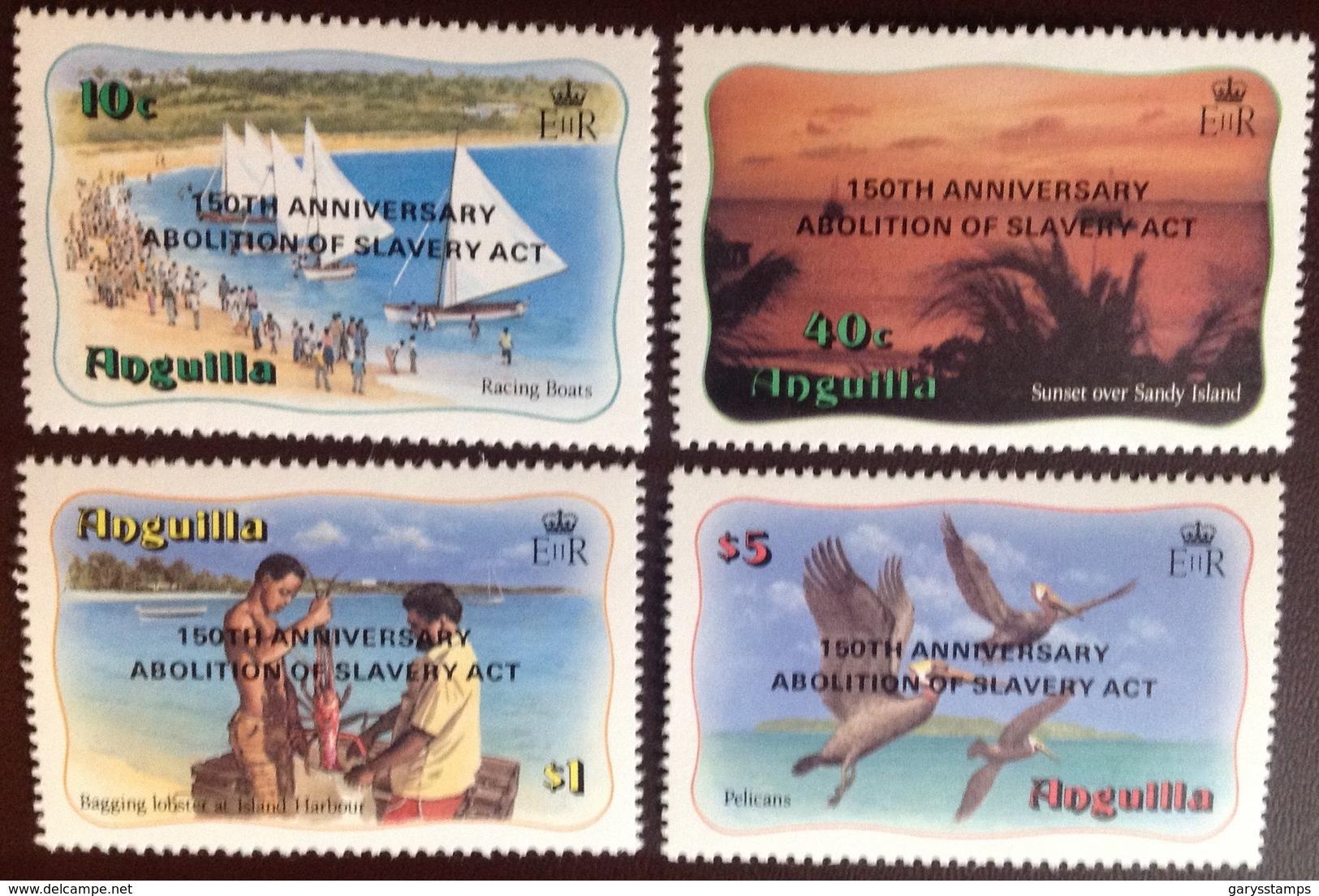 Anguilla 1983 Abolition Of Slavery Birds MNH - Anguilla (1968-...)