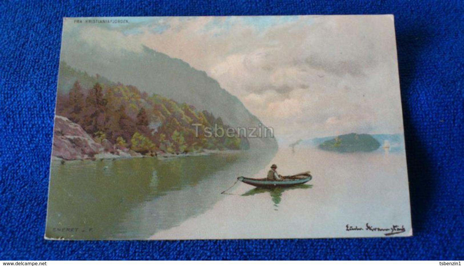 Fra Kristiania Fjorden Norway - Norvegia