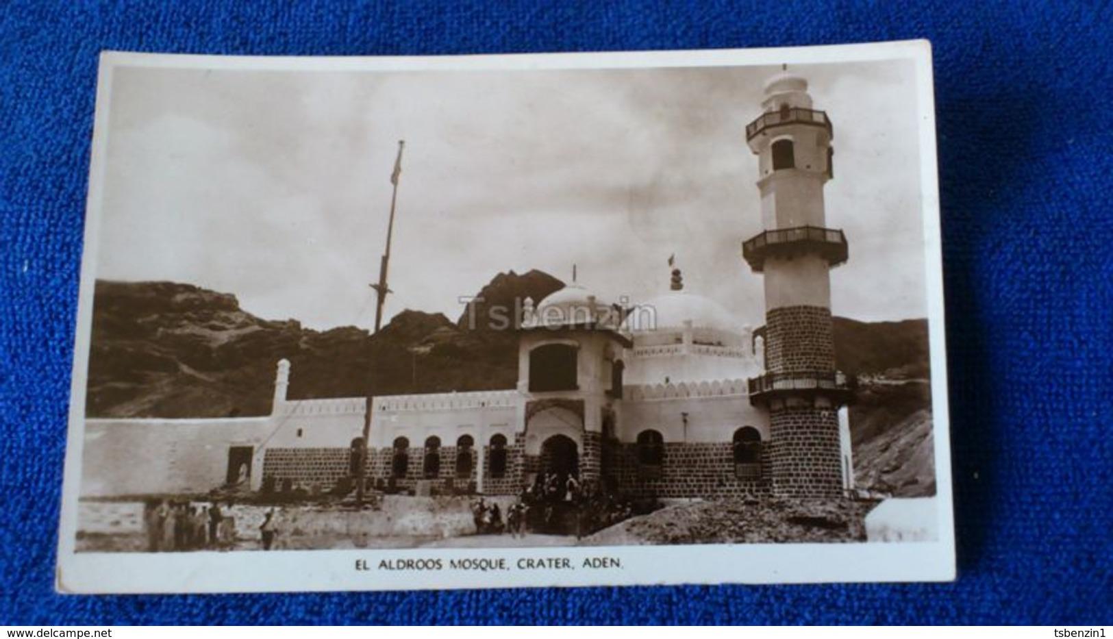 El Aldroos Mosque. Crater, Aden Yemen - Yemen