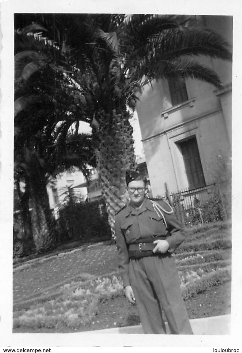 PHOTO  MILITAIRE SOLDAT 8.50 X 6 CM - Guerre, Militaire