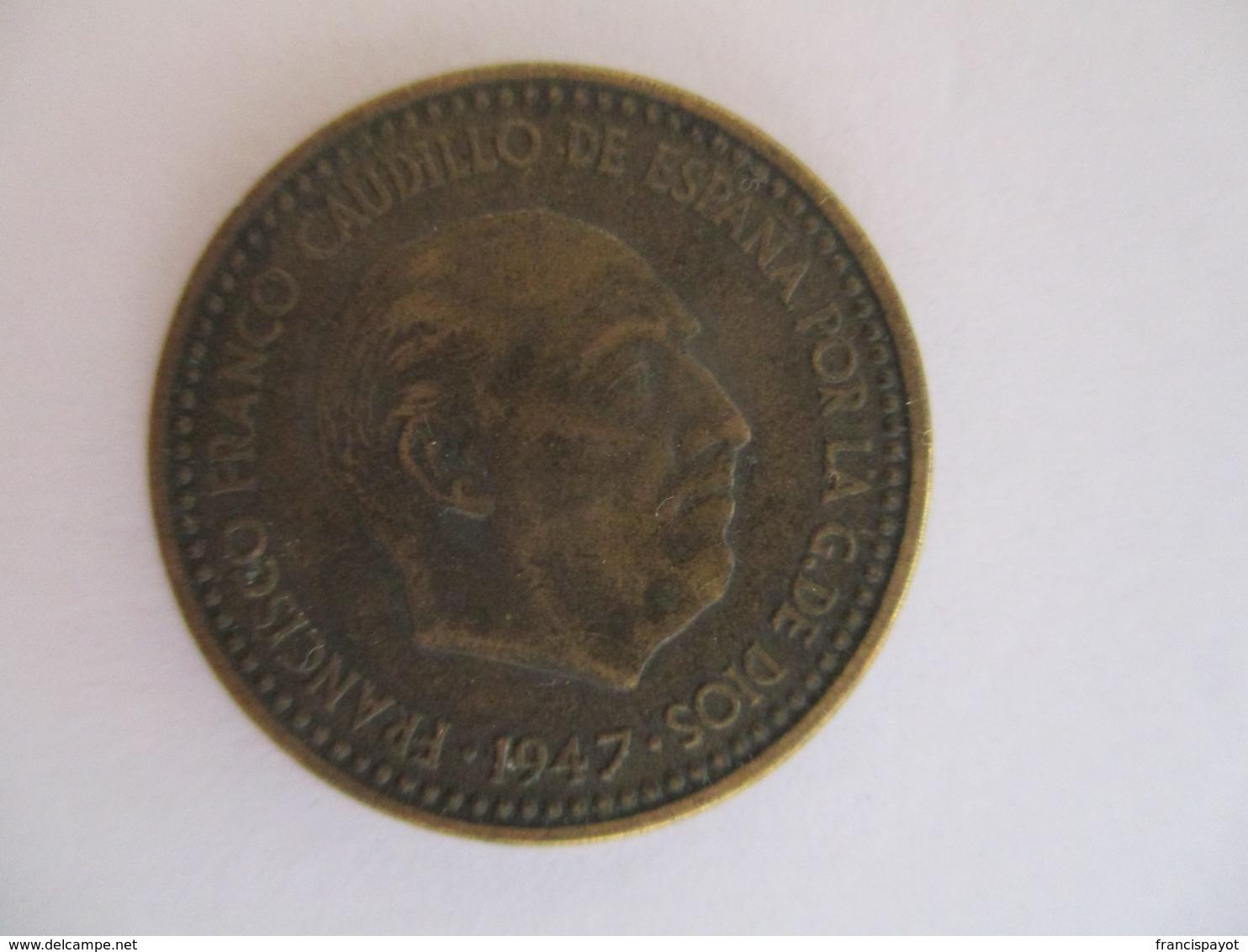 Spain: 1 Peseta 1947 / 1948 - 1 Peseta
