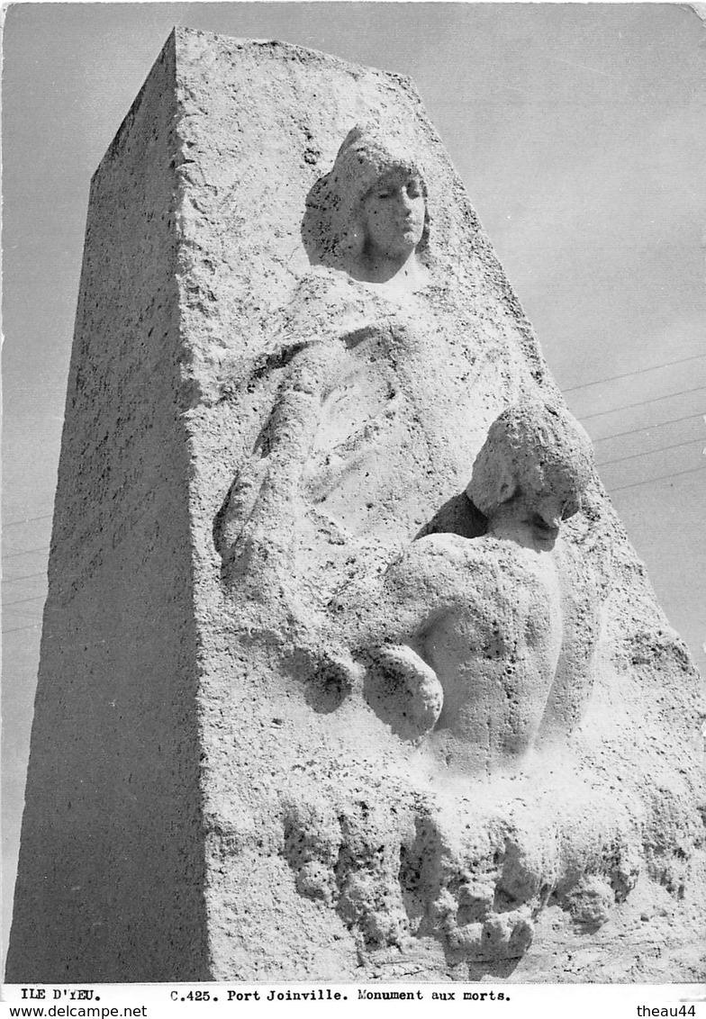 ¤¤  -  ILE D'YEU   -  Port Joinville  -  Monument Aux Morts   -  Editions Des Septfonts   -  ¤¤ - Ile D'Yeu