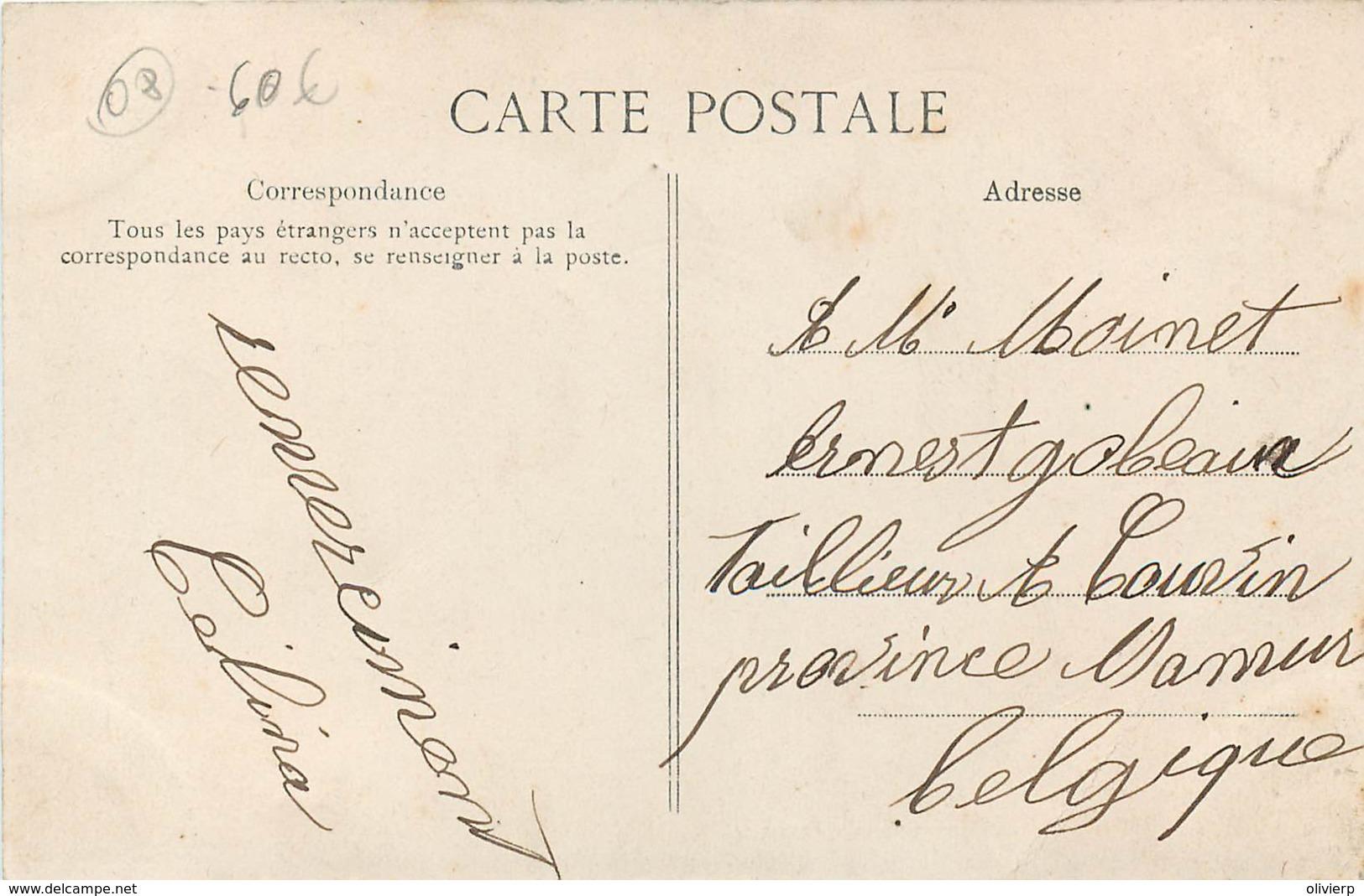 Charleville-Mézières - Vivier-au-Court - Madame Dominé , Appariteur - Charleville