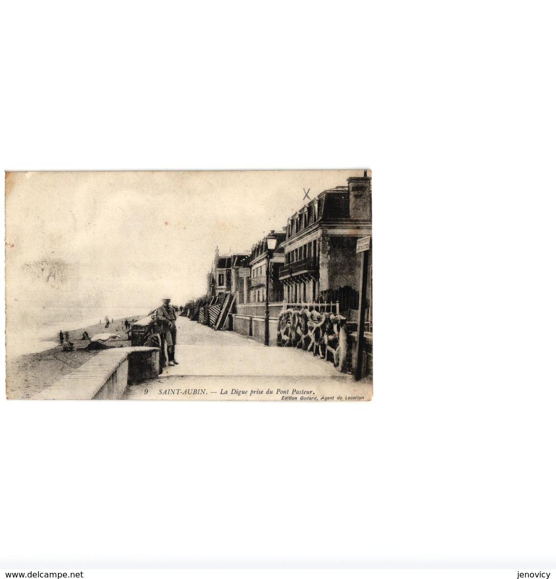SAINT AUBIN,DIGUE PRISE DU PONT PASTEUR,CACHET HOPITAL COMPLEMENT N°32 REF 60208 - Saint Aubin