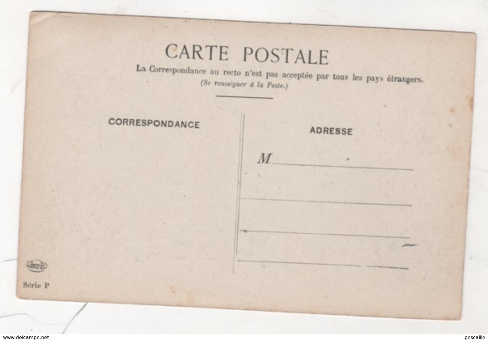 75 PARIS AU MOYEN AGE - CP ILLUSTRATEUR ALBERT ROBIDA - LA COUR DES MIRACLES - E BAUDELOT PARIS SERIE P - Francia