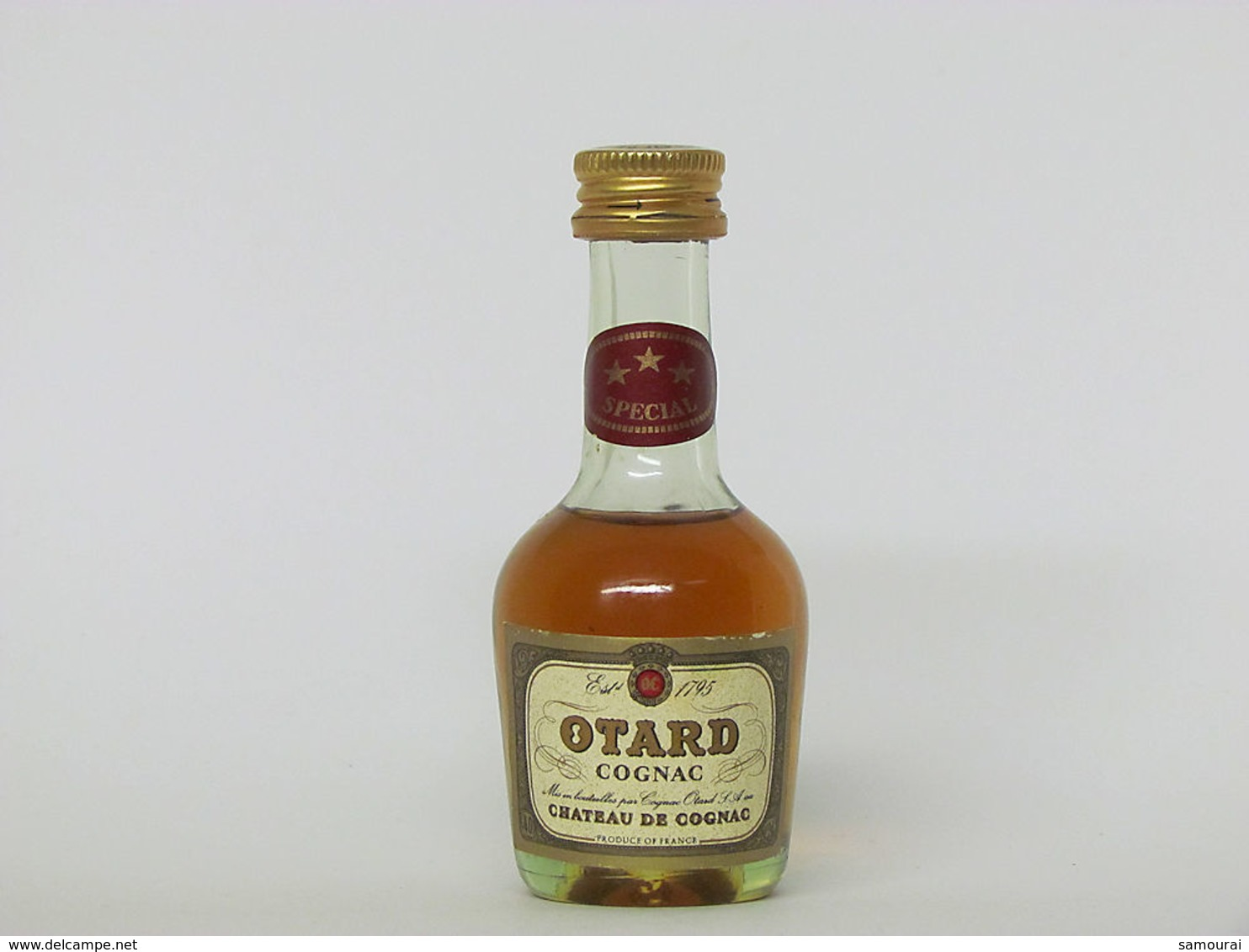 1 Mignonnette De Cognac - OTARD * * * SPECIAL - Mignonnettes