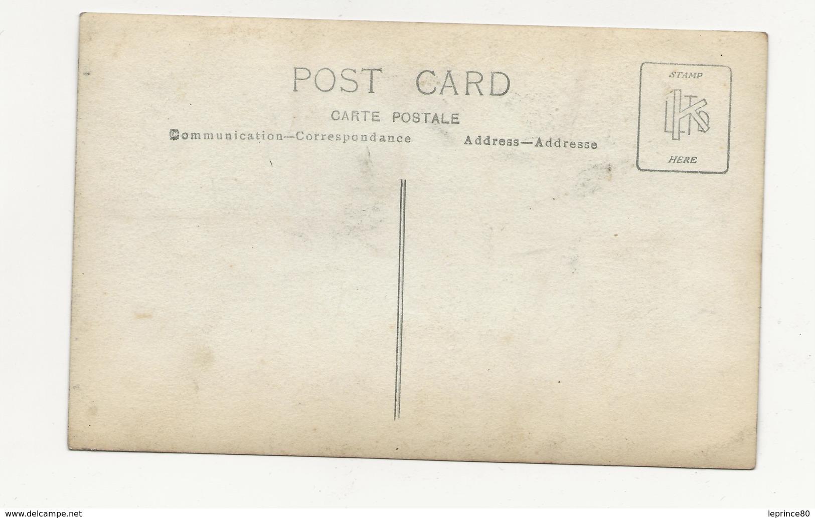 CARTE PHOTO MILITAIRE SUR MOTO GUERRE 1914/ 1918 GROS PLAN - Guerre 1914-18