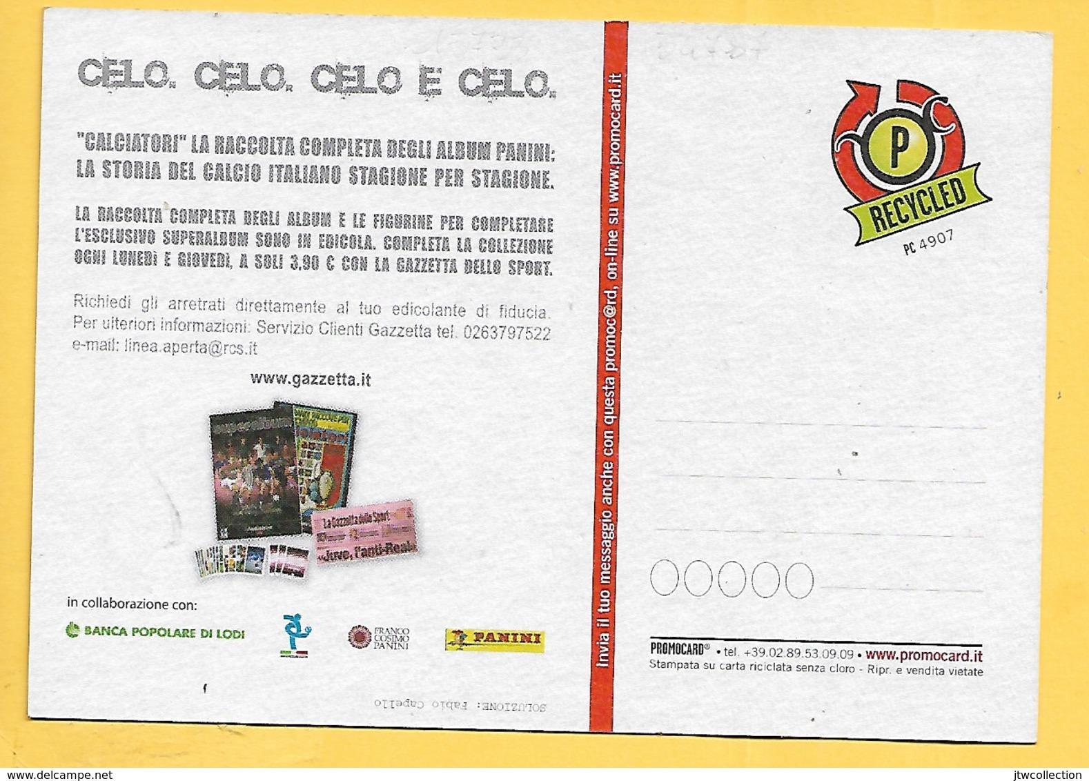 Juventus - Capello - Non Viaggiata - Calcio