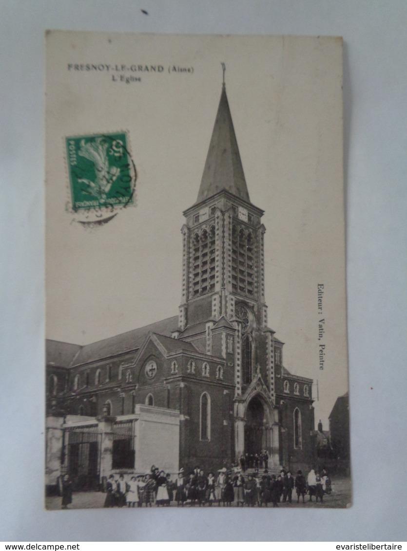 FRESNOY -LE-GRAND : L'église - France