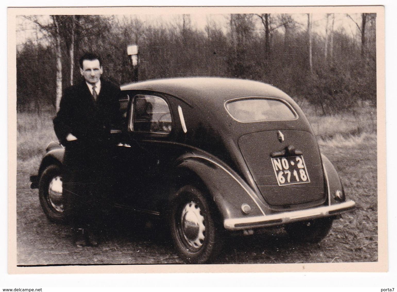 "AUTOMOBILE   "" LANCIA ARDEA ""  -  LANCIA CAR  -  FOTO ORIGINALE 1952 - Automobili"