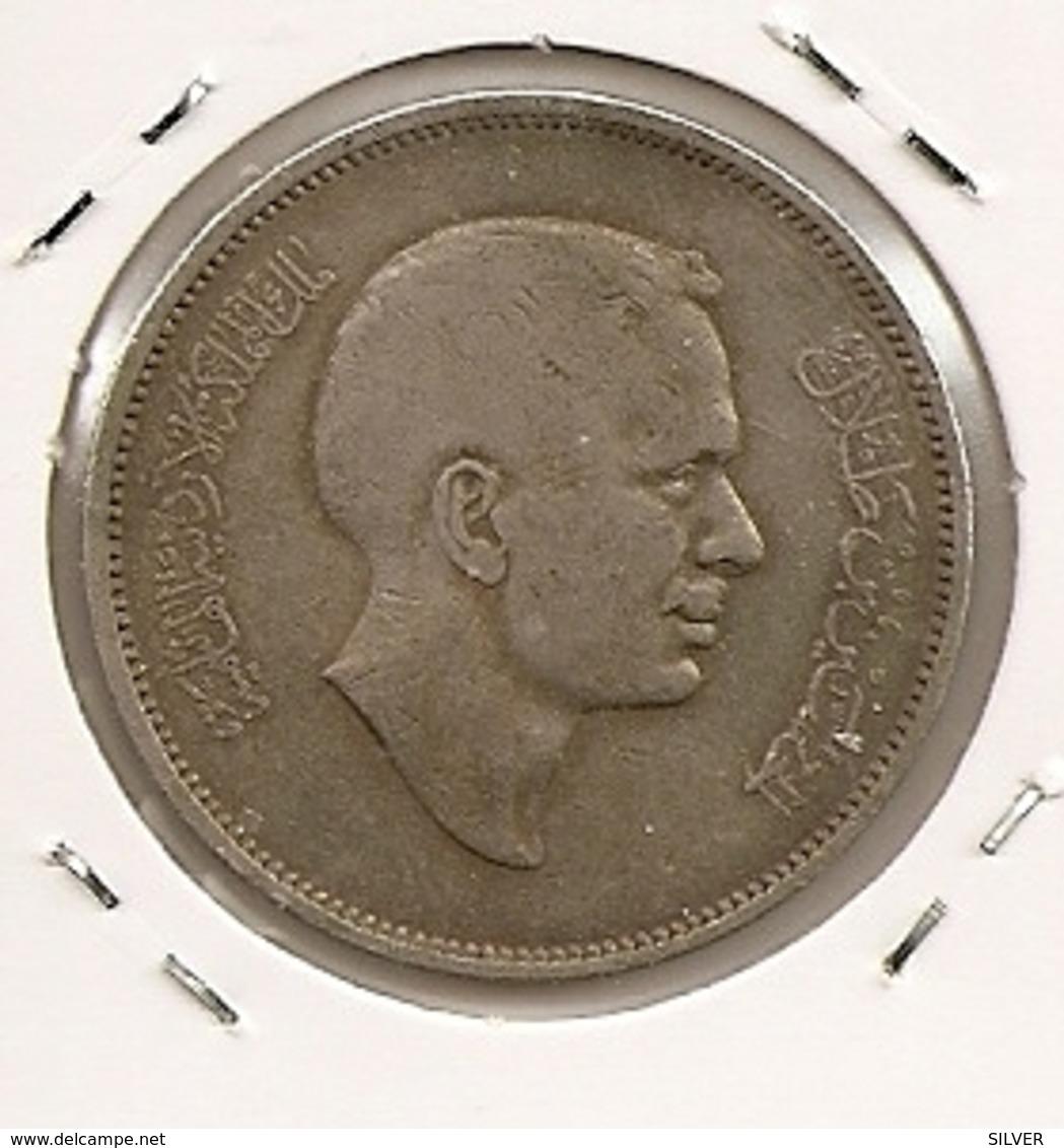 JORDANIE JORDAN JORDANIA 100 Fils Hussein AH 1387 1968 RARE 110 MTG 175 000 - Jordanie