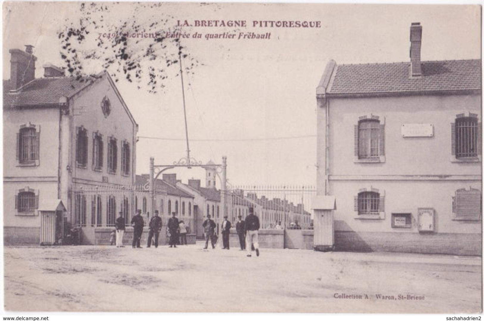 56. LORIENT. Entrée Du Quartier Frébault. 7049 - Lorient