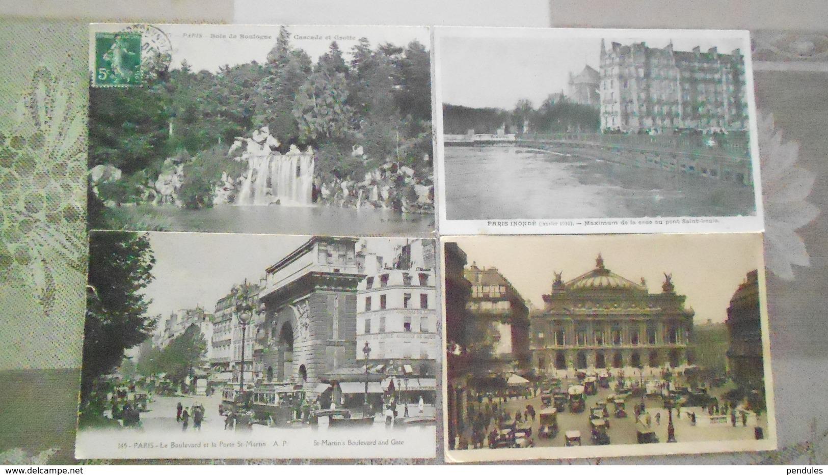 83CARTESLOT DE 16 CARTES DE PARIS  N° DE CASIER  8 - Postcards