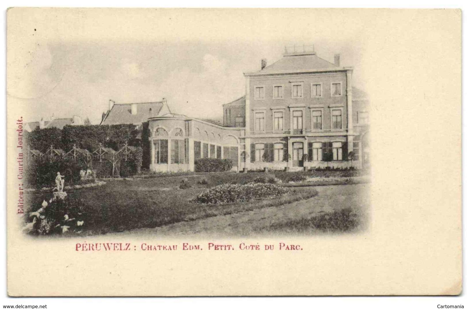 Péruwelz - Château Edm. Petit - Côté Du Parc - Péruwelz