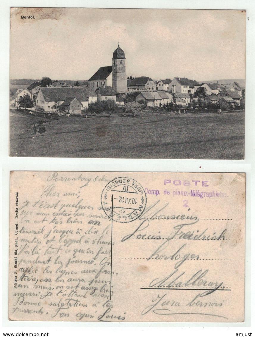 Suisse // Schweiz // Jura // Bonfol - JU Jura
