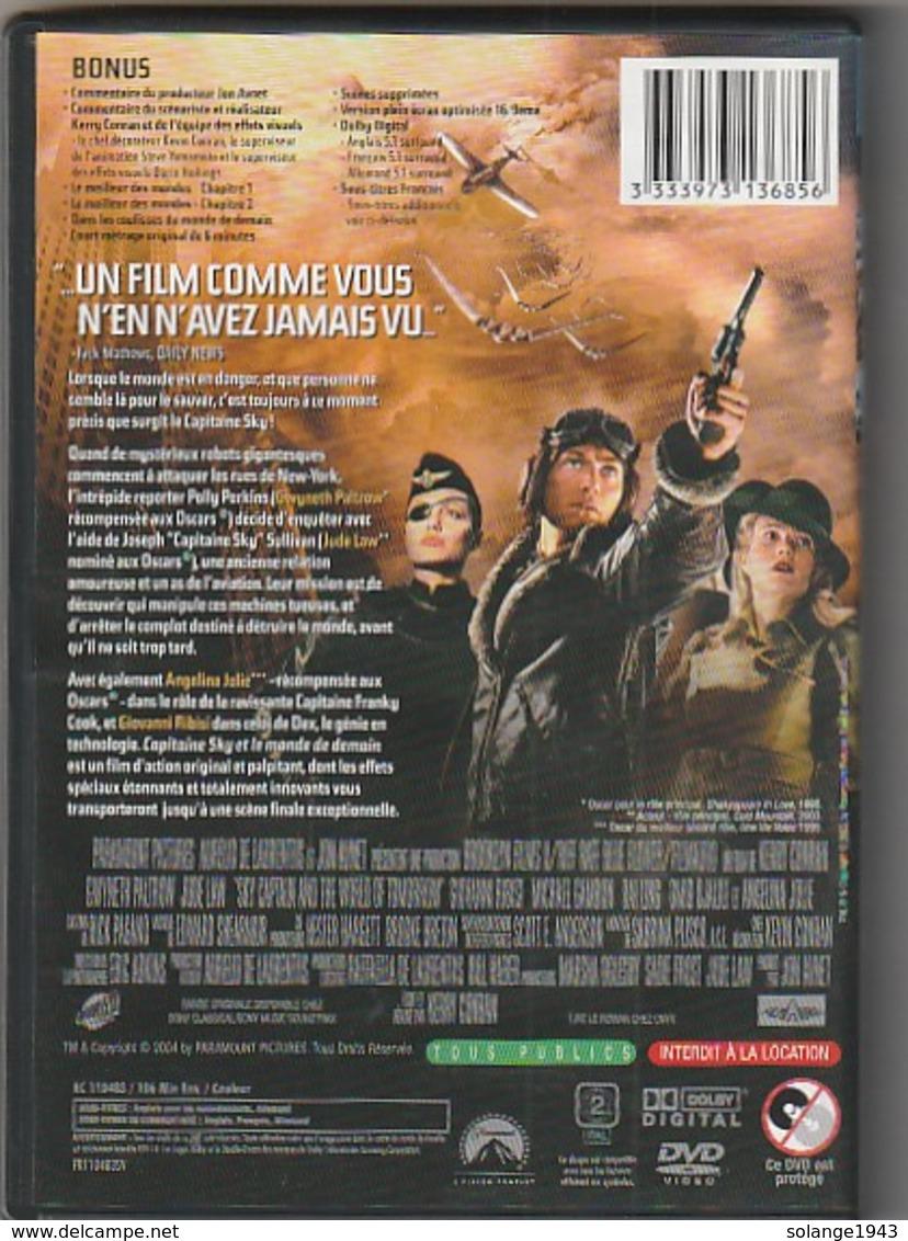 Dvd  CAPITAINE SKY ET LE MONDE DE DEMAIN    Etat: TTB  Port 110 Gr Ou 30 Gr - Science-Fiction & Fantasy