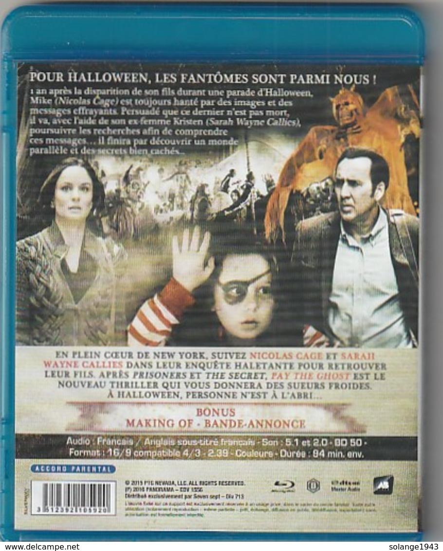 DVD BLU RAY  Pay The Gost Avec Nicolas Cage    Etat: TTB Port 110 Gr Ou 30 Gr - Policiers