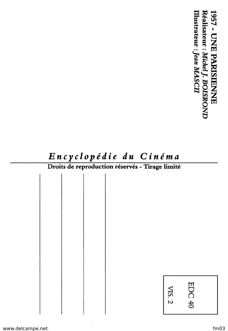Brigitte Bardot Charles Boyer Henri Vidal Illustrateur Jean Mascii - Acteurs