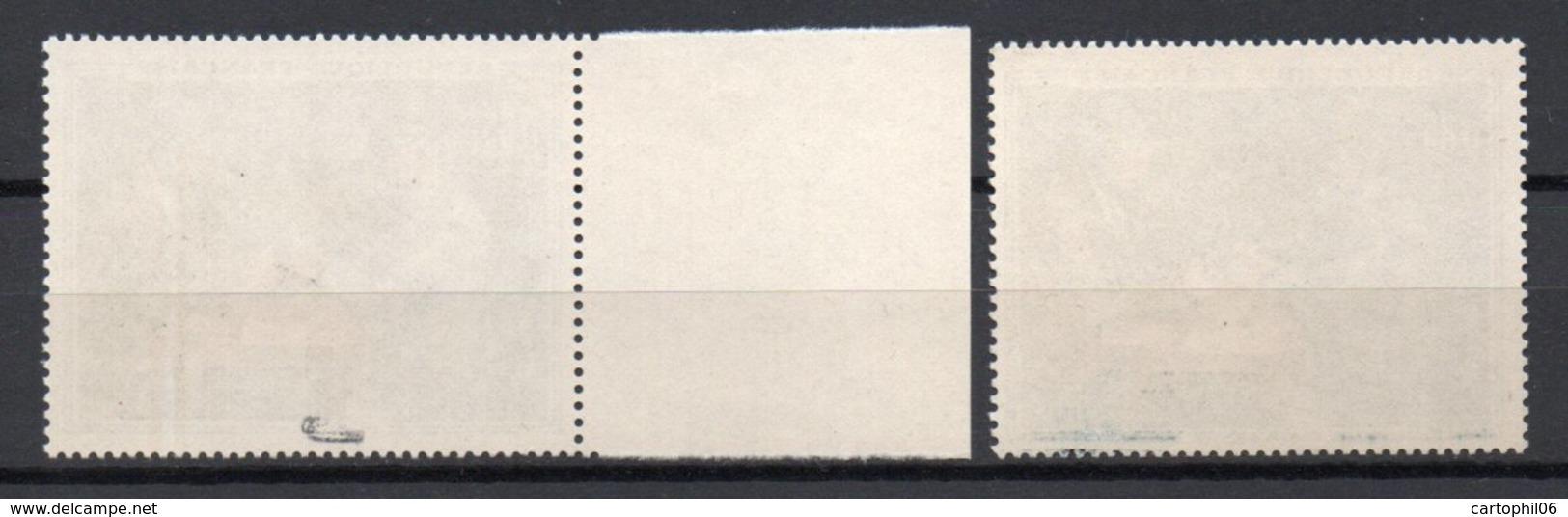 - FRANCE Variété N° 1321f - 85 C. Cézanne 1961 - CHIFFRES BLANCS - Signé CALVES - Cote 38 EUR - - Abarten: 1960-69 Ungebraucht