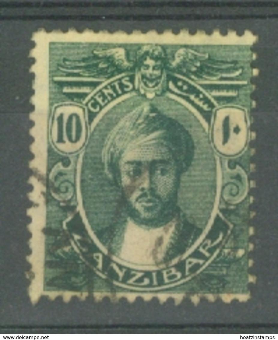 Zanzibar: 1914/22   Sultan Kalif Bin Harub    SG265   10c   Used - Zanzibar (...-1963)