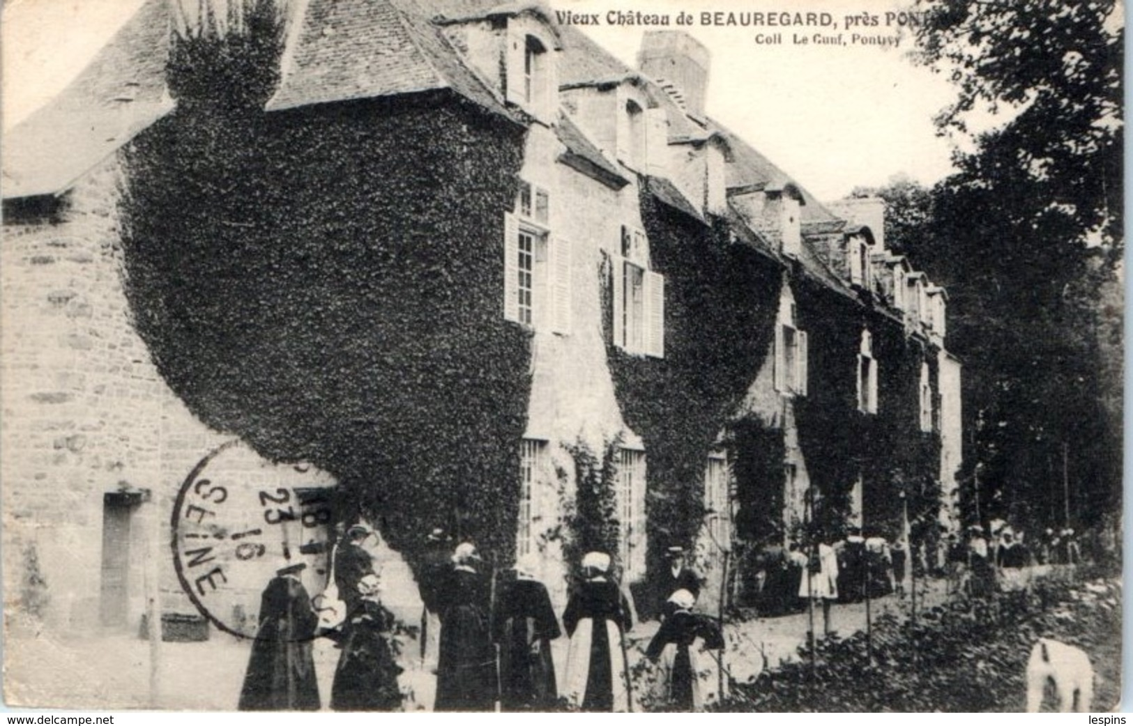 56 - Vieux Château De BEAUREGARD , Près Pontivy - France