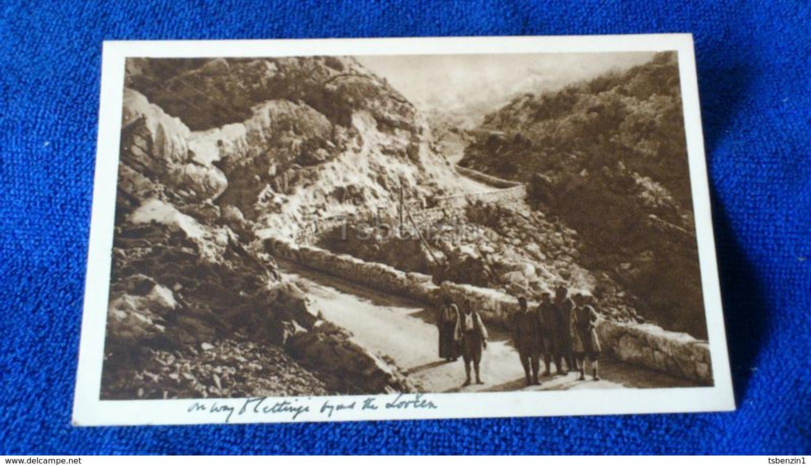 Weg Nach Cetinje Montenegro - Montenegro