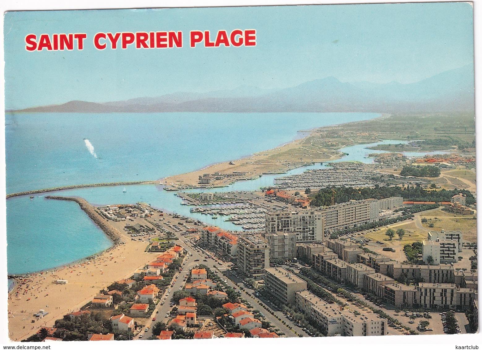 Saint Cyprien Plage - Vue Générale Du Port - Saint Cyprien