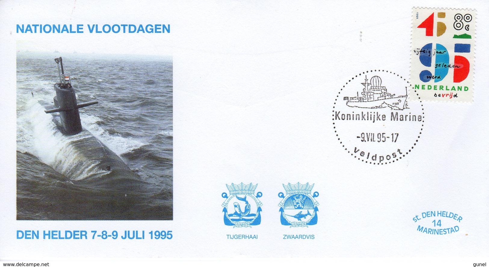 1995 NATINALE VLOOTDAGEN DEN HELDER  VELDPOST - FDC