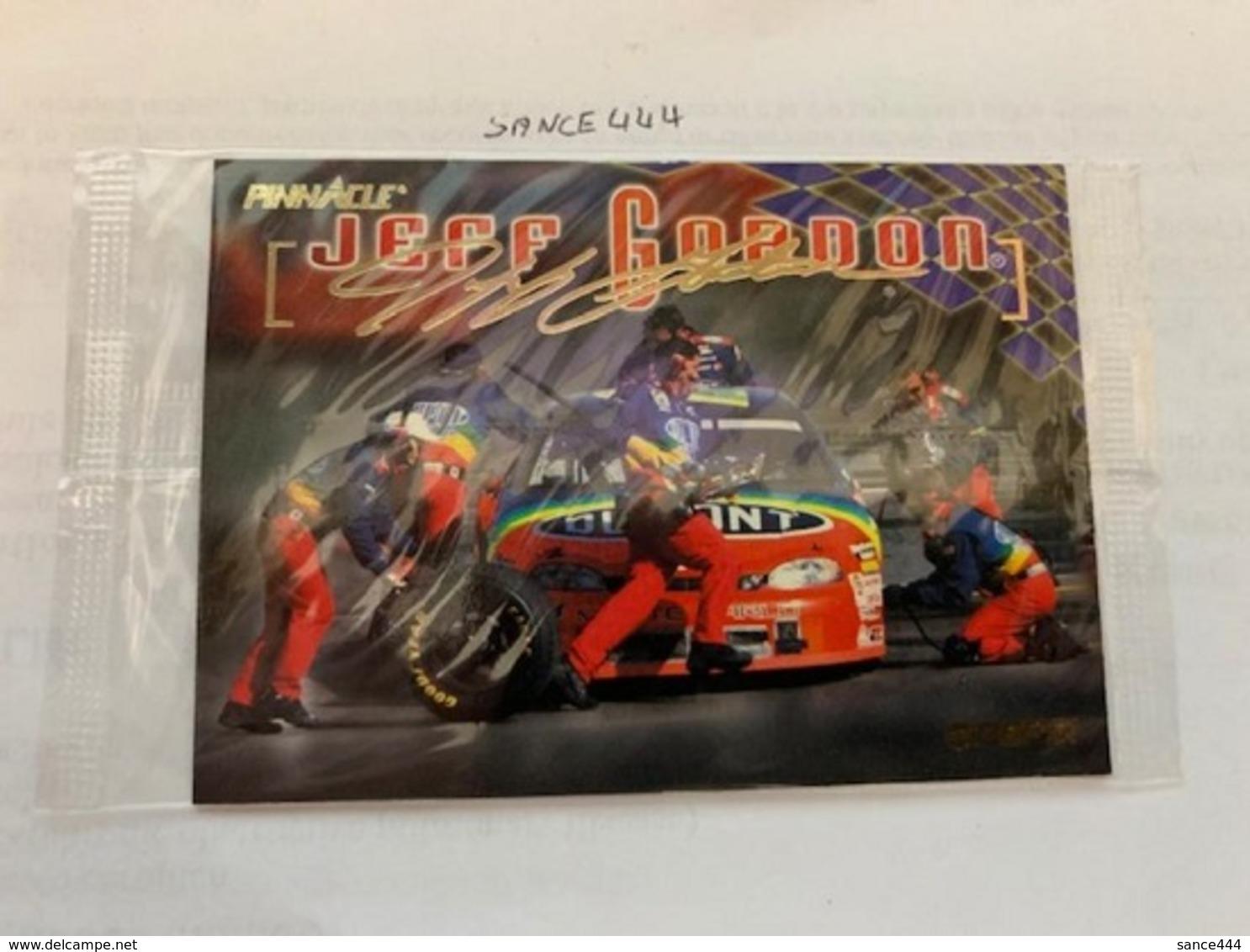 Jeff Gordon Card #abcde - Schede Telefoniche
