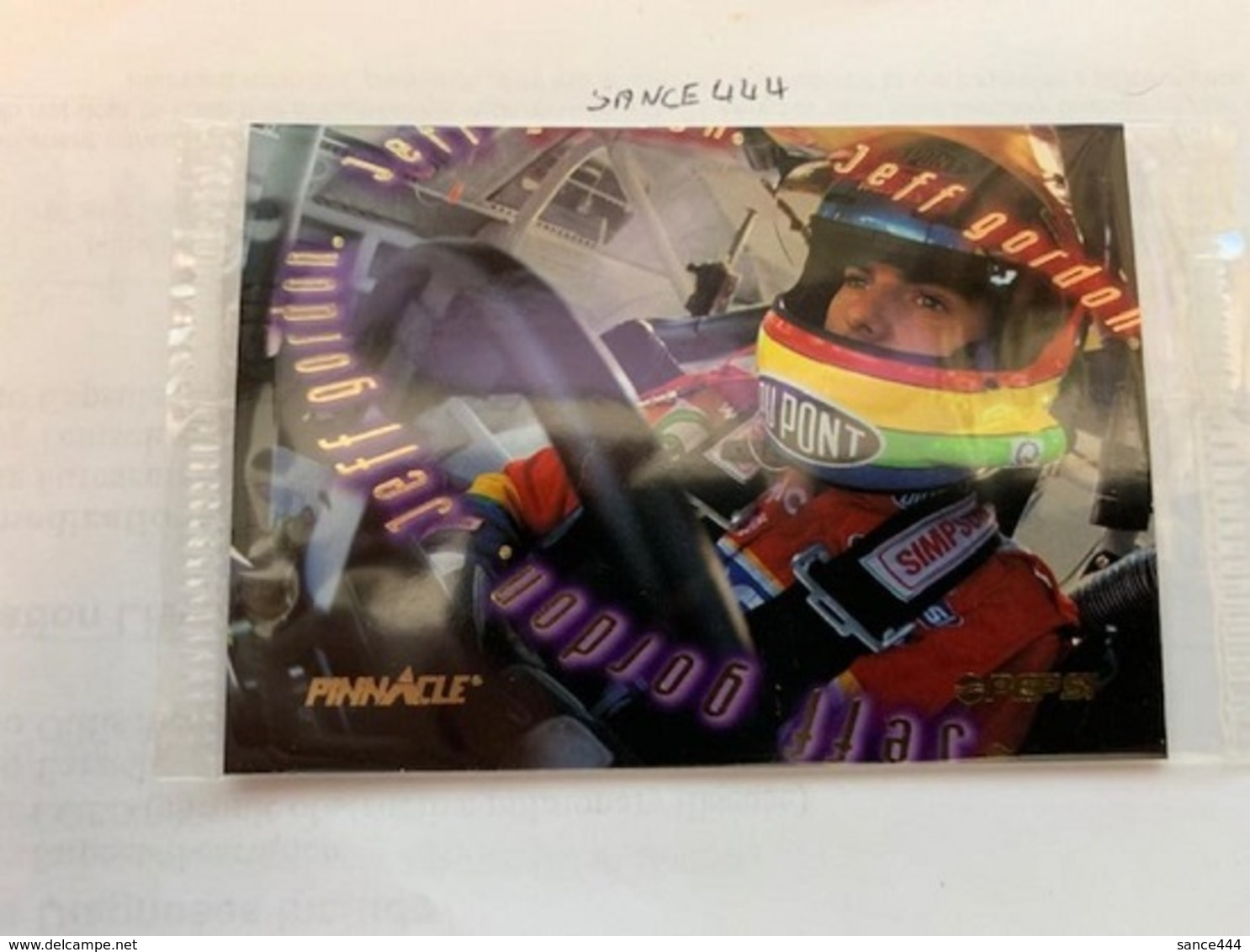 Jeff Gordon Card #ab - Other - America