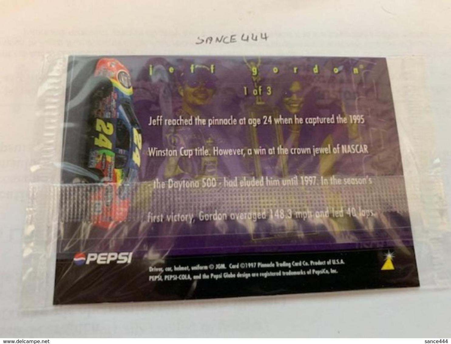 United States Jeff Gordon Card #ab - Altri – America