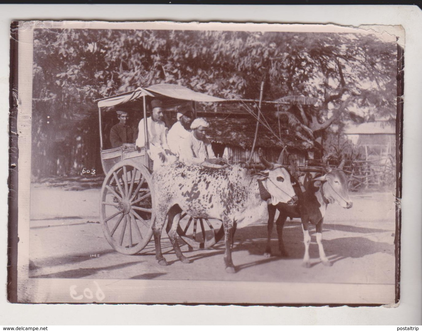 INDO CHINE ASIA  11*8 CM Fonds Victor FORBIN 1864-1947 - Fotos