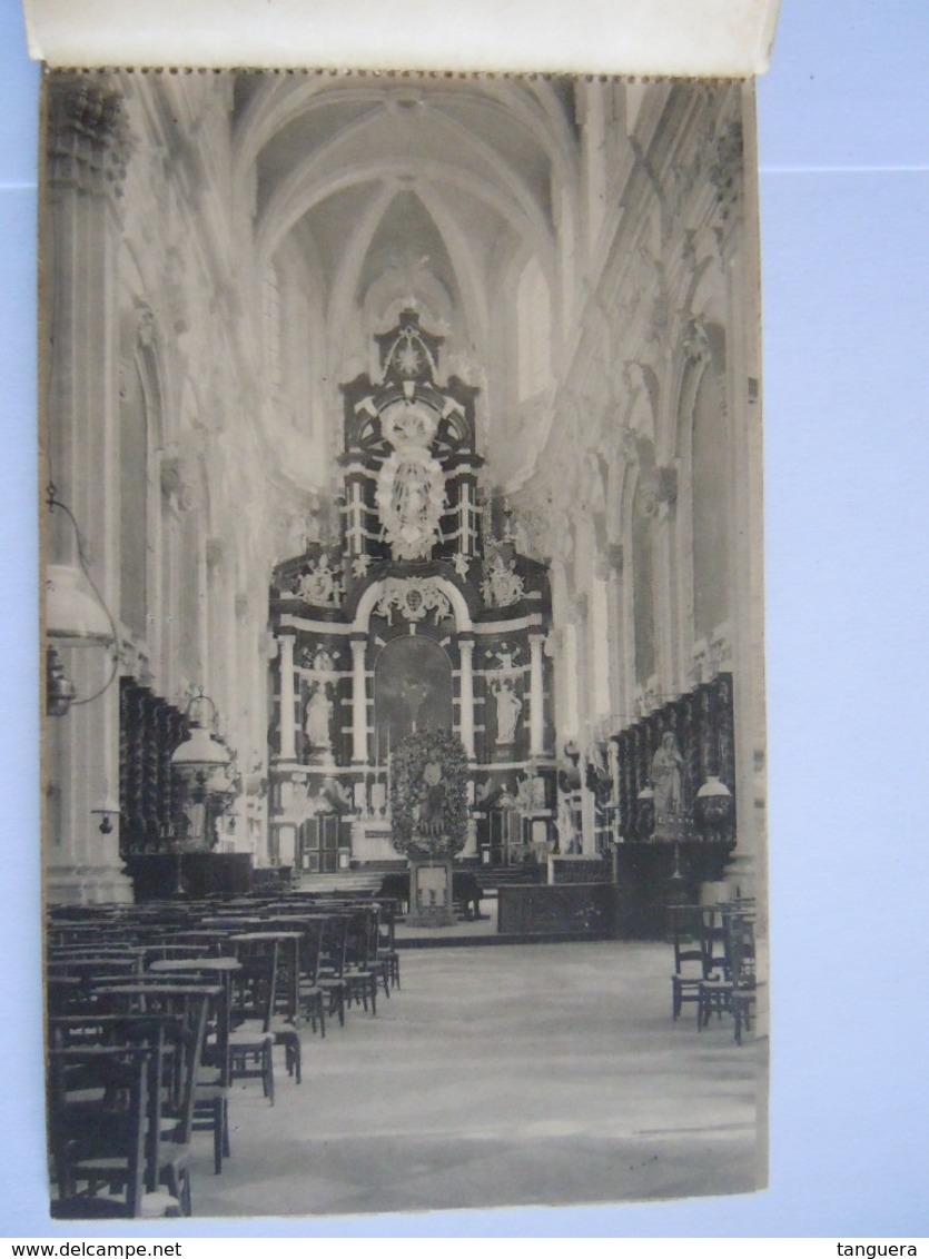 Grimbergen 11 Afscheurbare Zichtkaarten Cartes Vues Detachables Zichten Der Kerk Vues De L'église Rassaert-De Bondt - Grimbergen