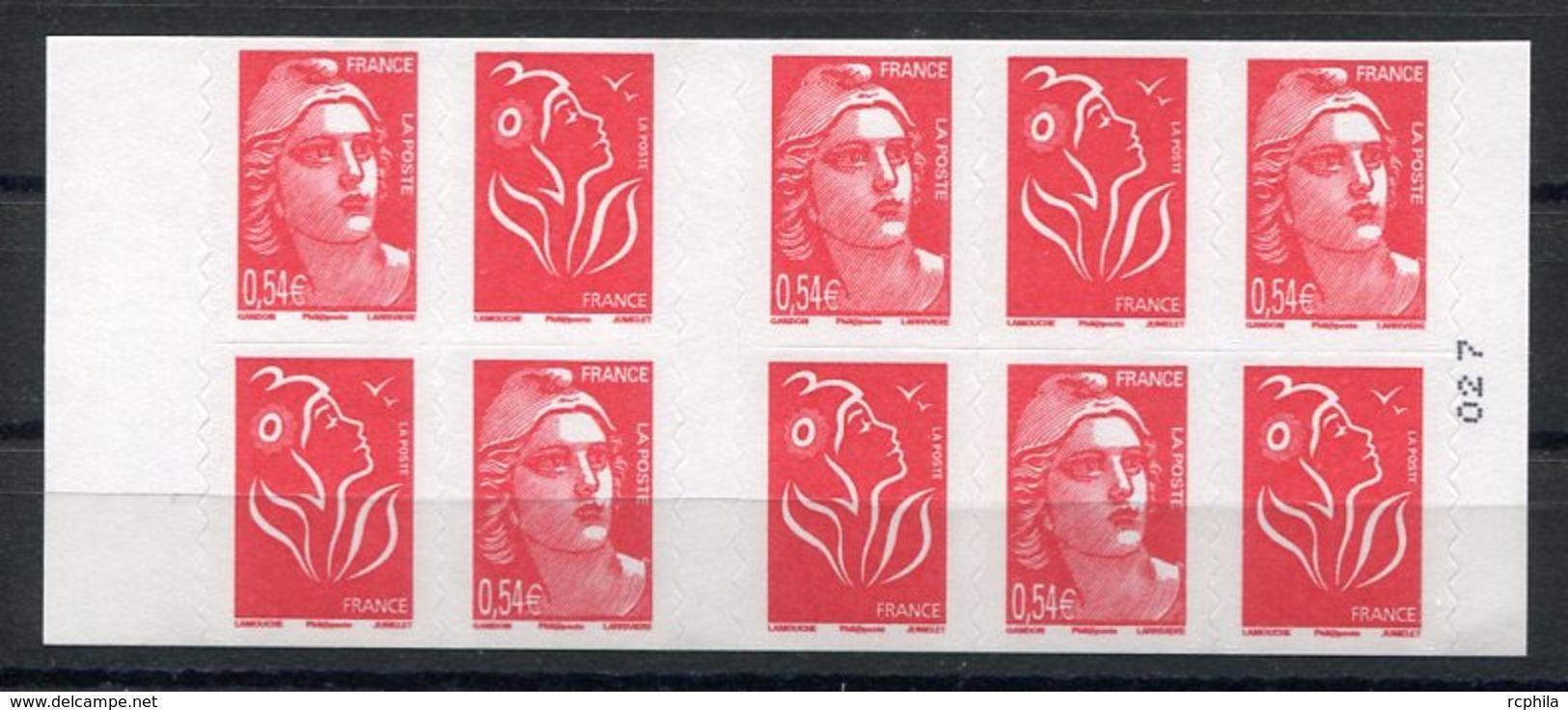 RC 11896 FRANCE CARNET N° 1514 LAMOUCHE + MARIANNE DE GANDON COTE 30€ NEUF ** TB - Freimarke