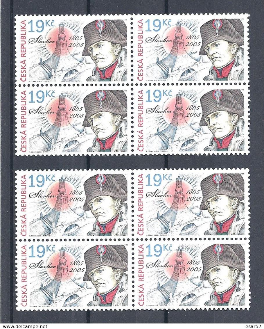 2005 CZECH REP.BATTLE AUSTERLITZ- Napoleon 8V MNH ** - Tchéquie