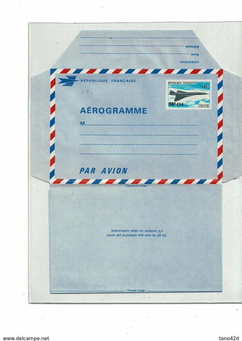 FAL10- REUNION AEROGRAMME ACEP N° 1 - Airmail