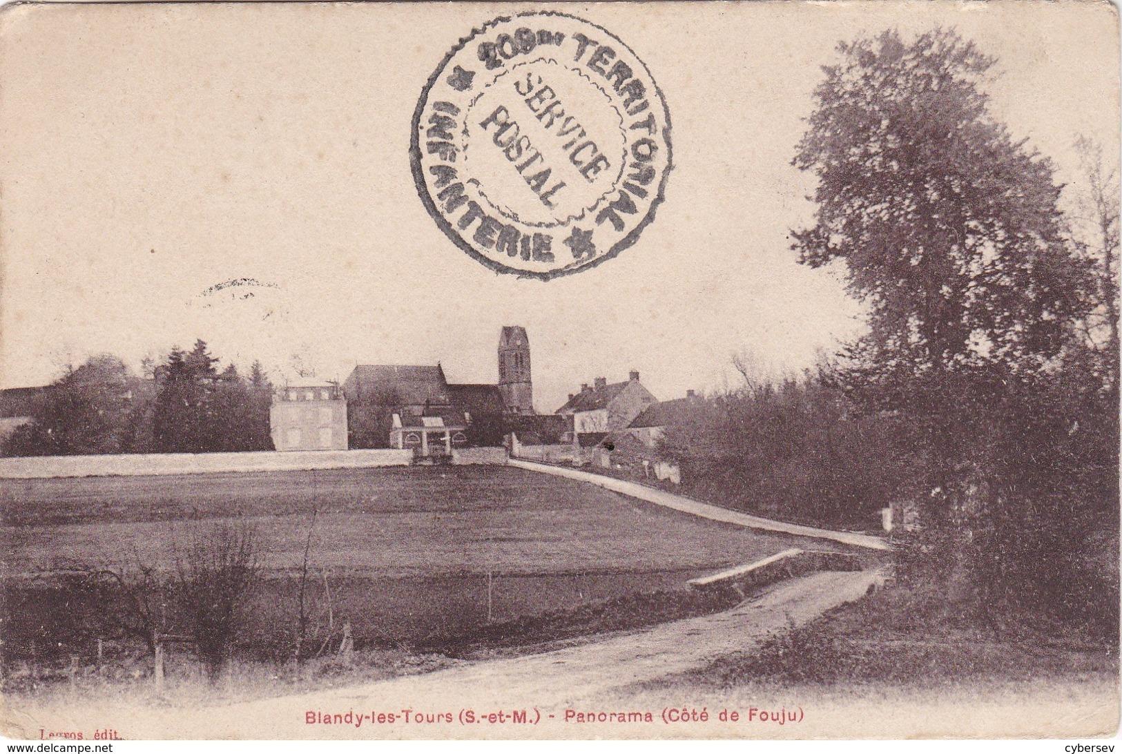BLANDY-les-TOURS - Panorama (côté De Fouju) - Autres Communes