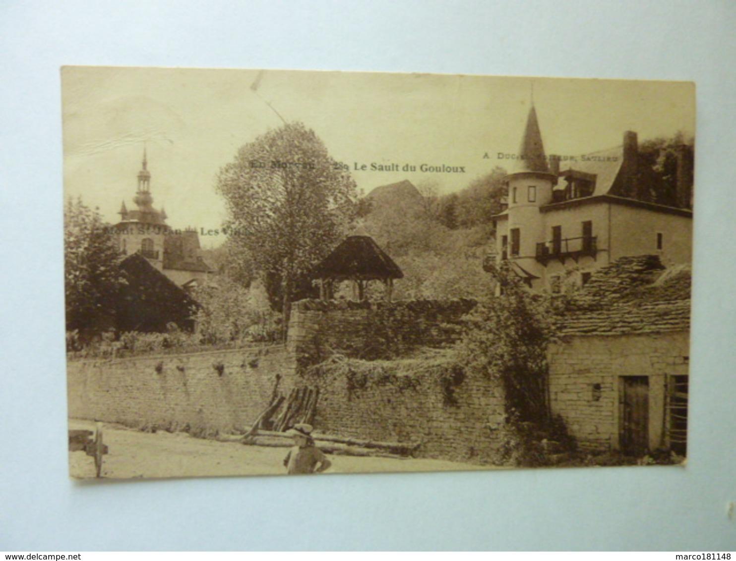Mont Saint Jean - Les Villas - Le Sault Du Gouloux - Autres Communes