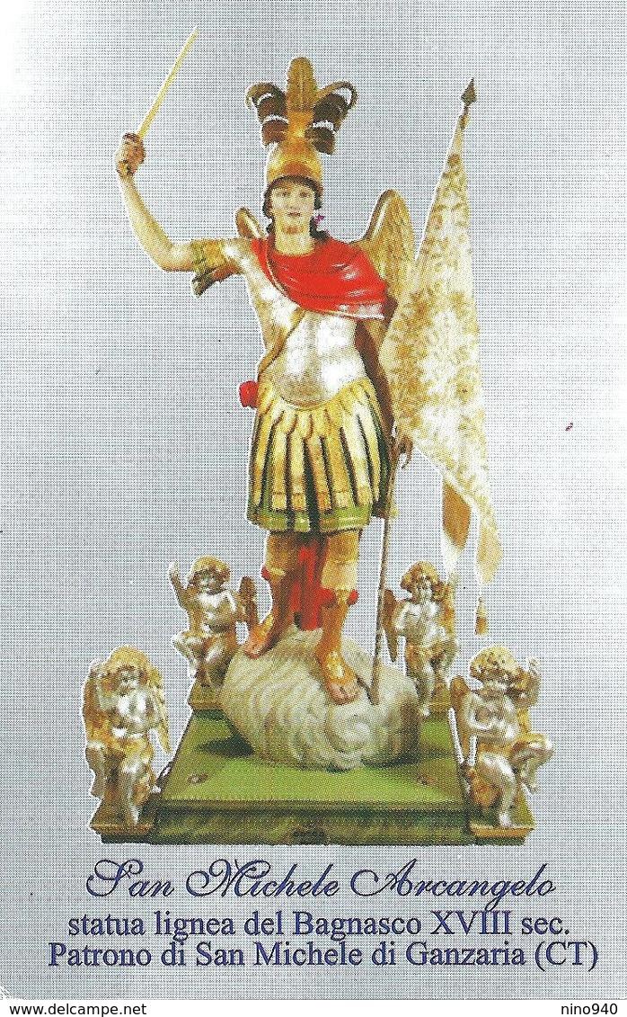 S. MICHELE ARCANGELO - San Michele Di Ganzaria   - M - RB - Mm. 66 X 102 - Religion & Esotérisme