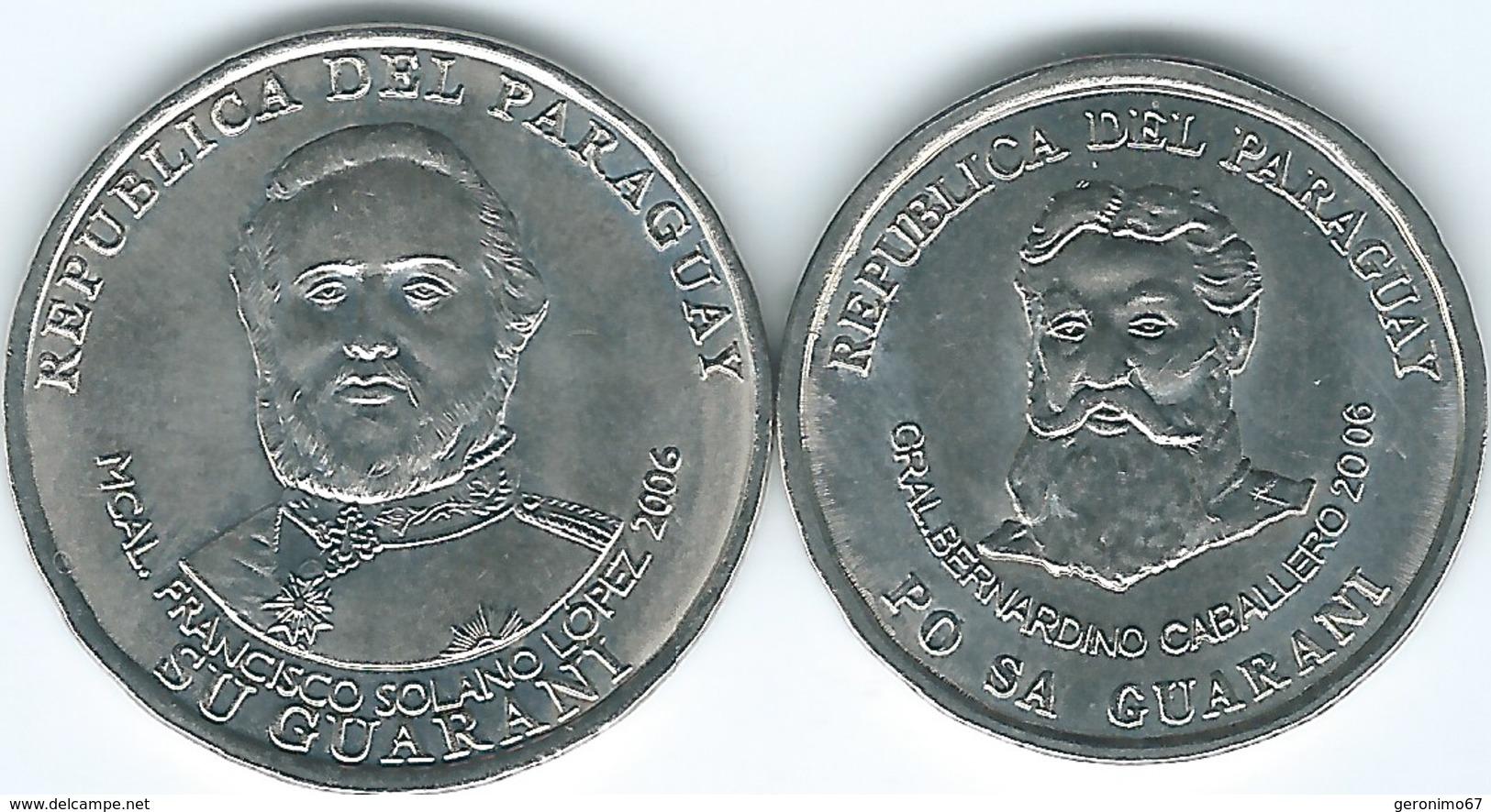 Paraguay - 2006 - 500 Guaraníes - KM195a & 1000 Guaraníes - KM198 - Paraguay