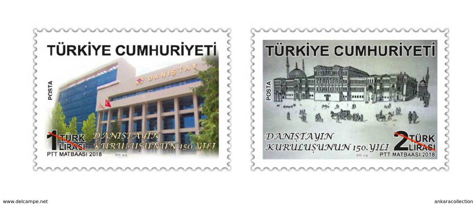 AC - TURKEY STAMP - 150th ANNIVERSARY OF COUNCIL OF STATE MNH 10 MAY2018 - Nuevos