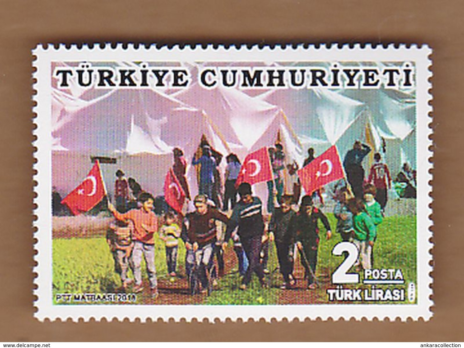 AC - TURKEY STAMP - APRIL 23th NATIONAL SOVEREIGNTY AND CHILDREN'S DAY MNH 23APRIL 2018 - 1921-... República