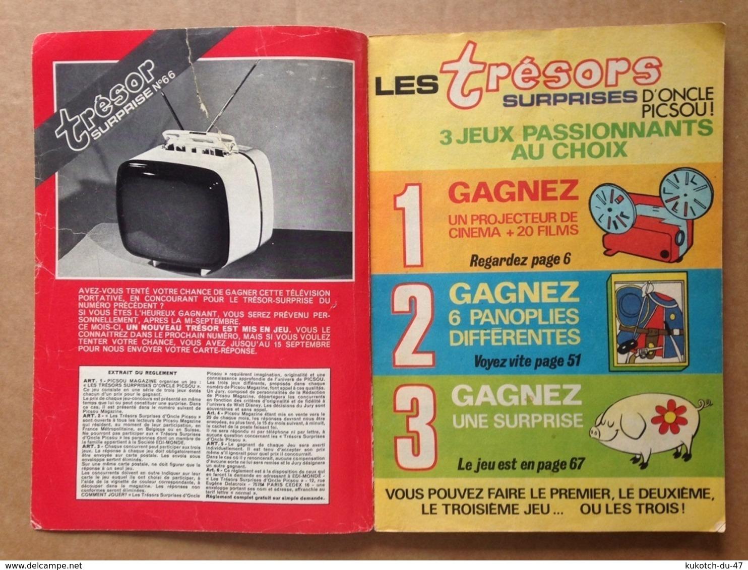 Disney - Picsou Magazine - Année 1977 - N°67 - Picsou Magazine