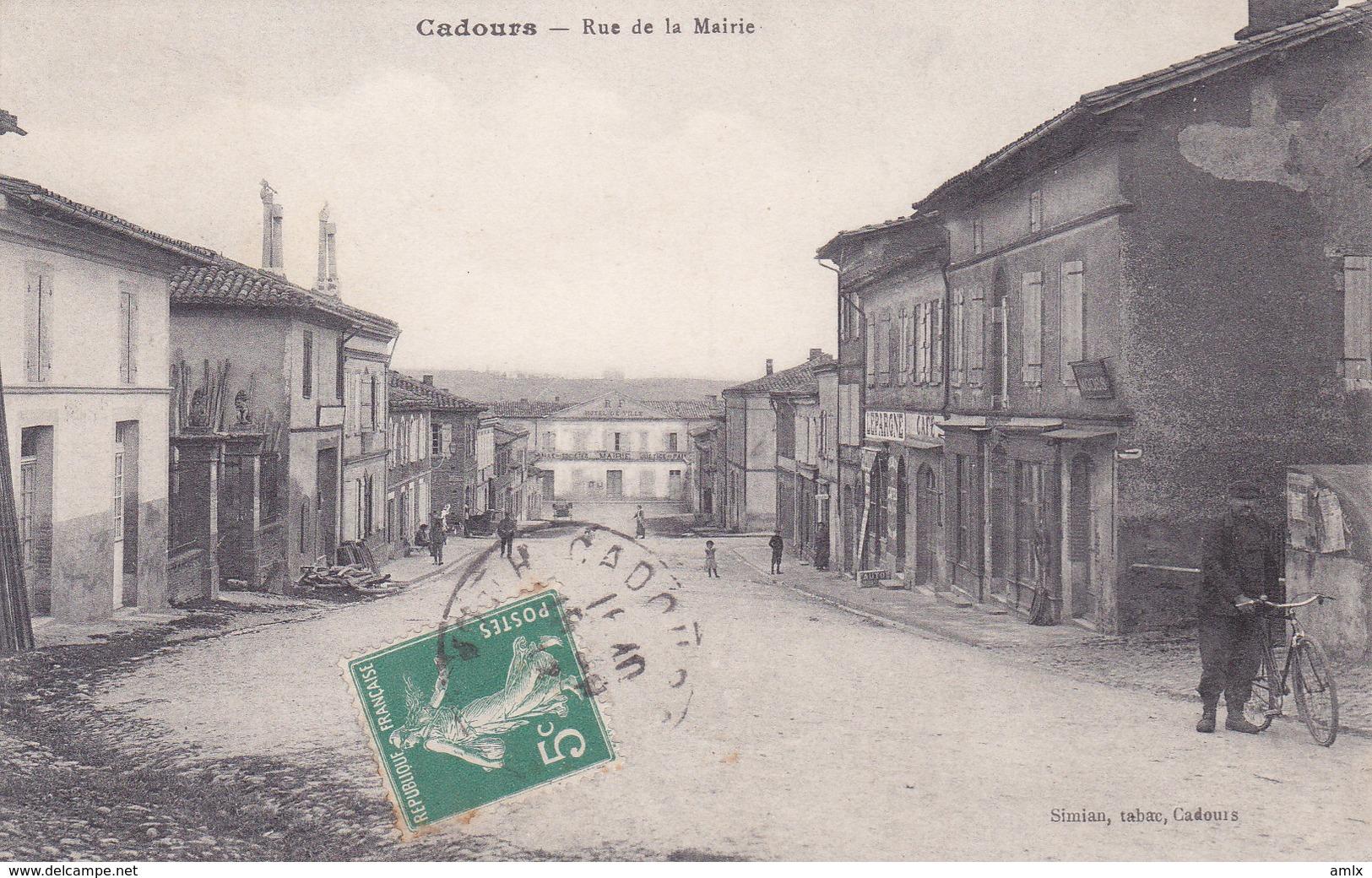 31. Cadours. Rue De La Mairie. TBE - France