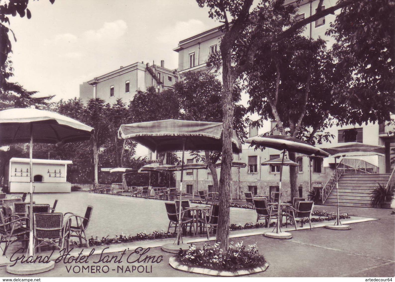 Napoli  - Grand Hotel Sant'elmo - Vomero - Non Viaggiata - Napoli (Naples)