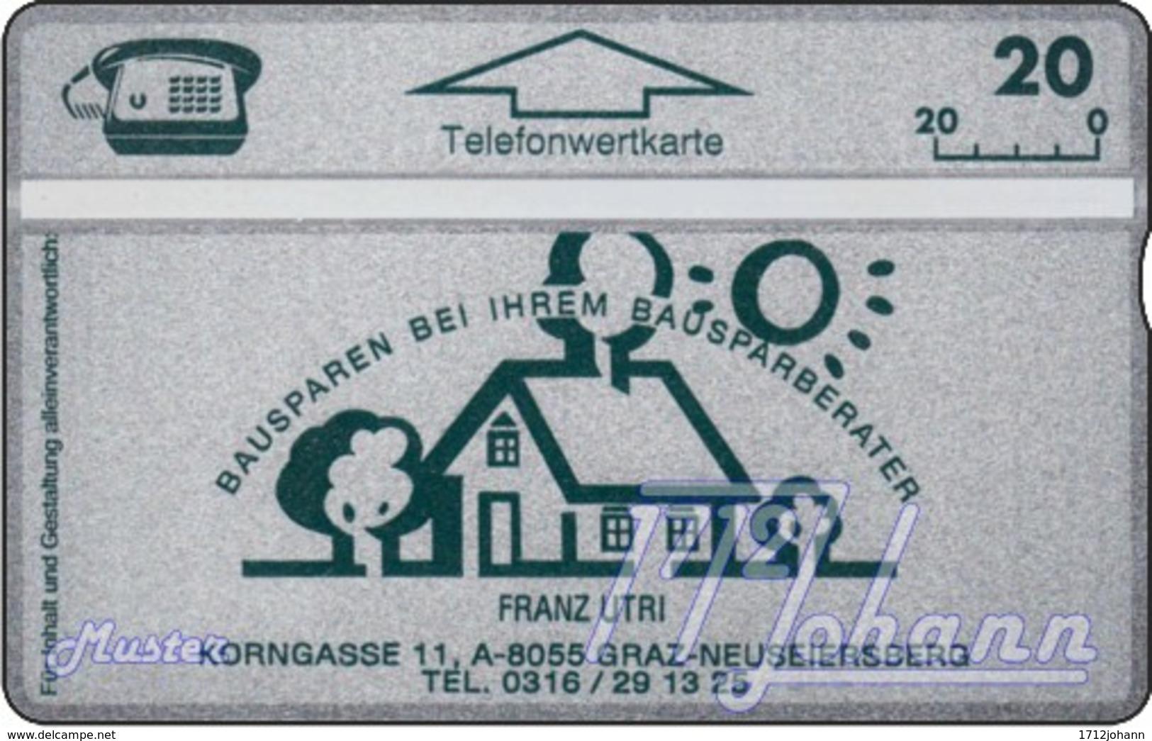 AUSTRIA Private: *Utri - Bausparen* - SAMPLE [ANK P259M] - Oesterreich